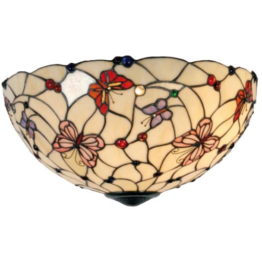 Filamentled Leeds Tiffany mennyezeti lámpa