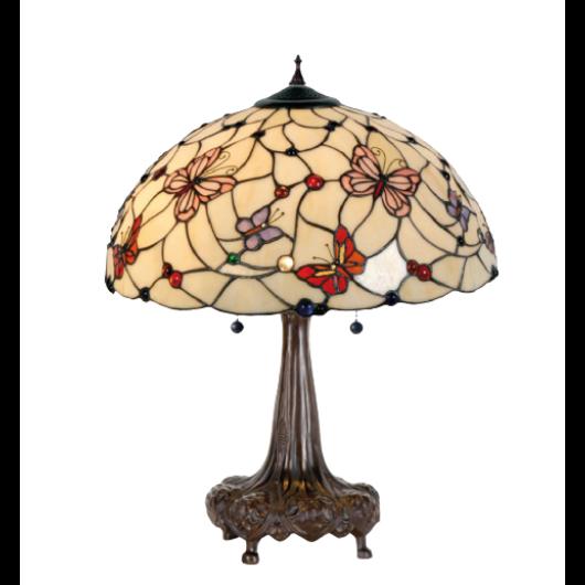 Filamentled Leeds Tiffany asztali lámpa