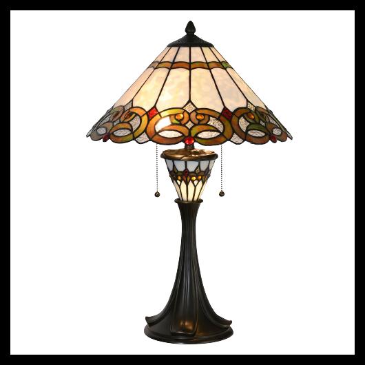 Filamentled Garve Tiffany asztali lámpa