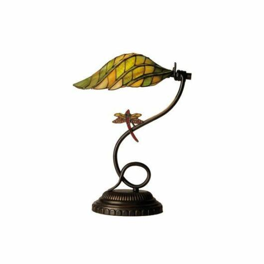 Filamentled Olney Tiffany asztali lámpa