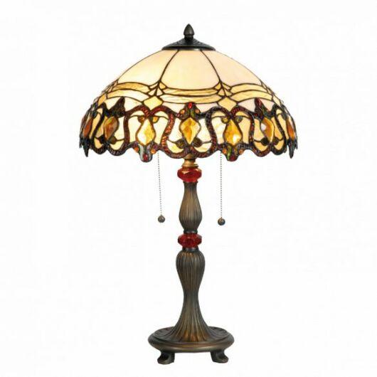 Filamentled Audlem Tiffany asztali lámpa