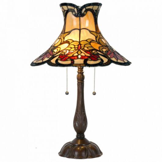 Filamentled Roberton Tiffany asztali lámpa