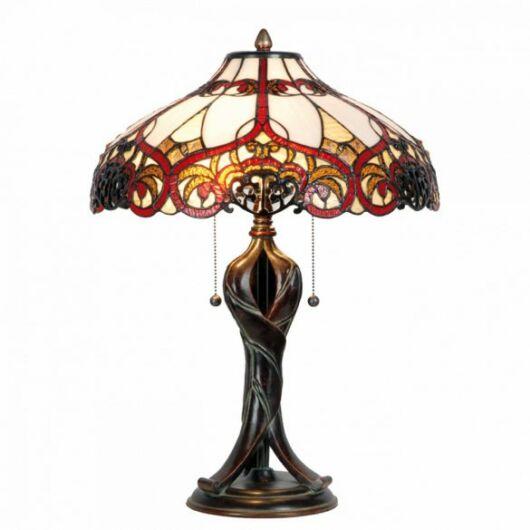 Filamentled Fintry Tiffany asztali lámpa