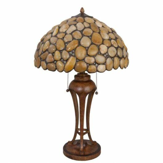 Filamentled Stone Tiffany asztali lámpa
