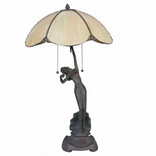 Filamentled Almer Tiffany asztali lámpa