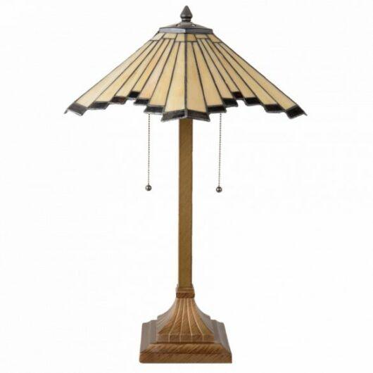 Filamentled Bangor Tiffany asztali lámpa