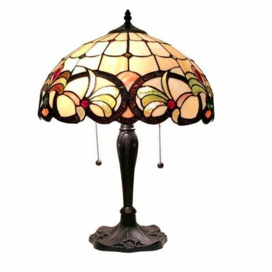 Filamentled Lapley Tiffany asztali lámpa