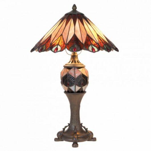 Filamentled Fenwick Tiffany asztali lámpa