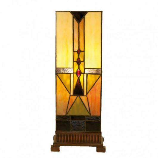 Filamentled Lincoln Tiffany asztali lámpa