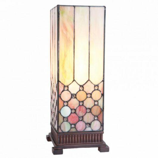 Filamentled Woodford L S Tiffany asztali lámpa