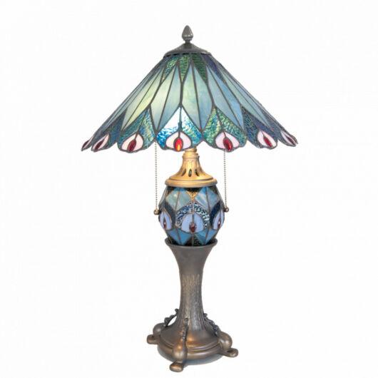 Filamentled Shegra Tiffany asztali lámpa