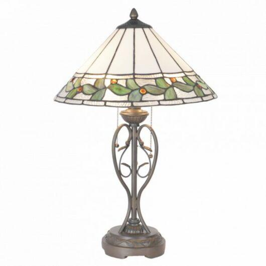 Filamentled Dreghorn Tiffany asztali lámpa