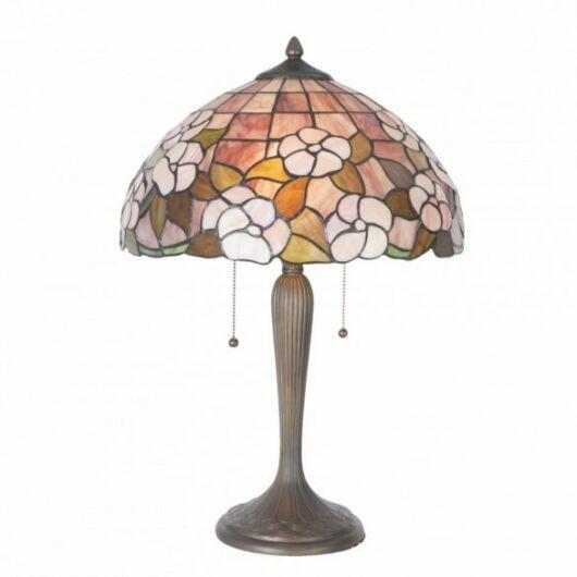Filamentled Otley Tiffany asztali lámpa