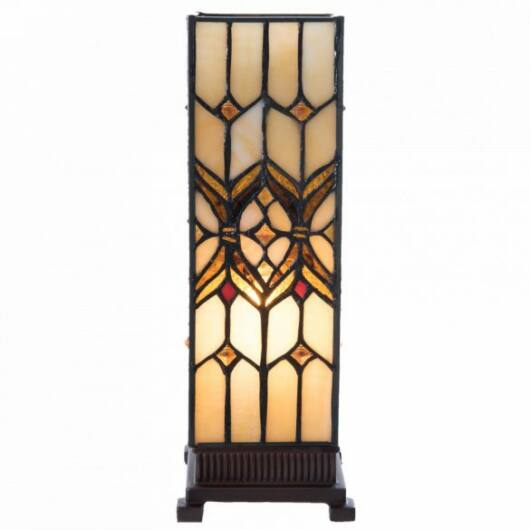 Filamentled Broughton M S Tiffany asztali lámpa