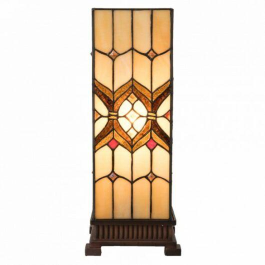 Filamentled Broughton L S Tiffany asztali lámpa