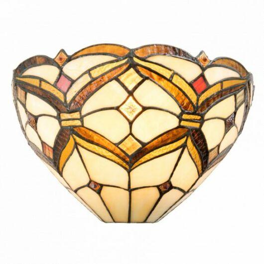Filamentled Broughton Tiffany fali lámpa