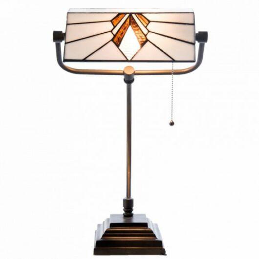 Filamentled Morpeth Tiffany bankár lámpa