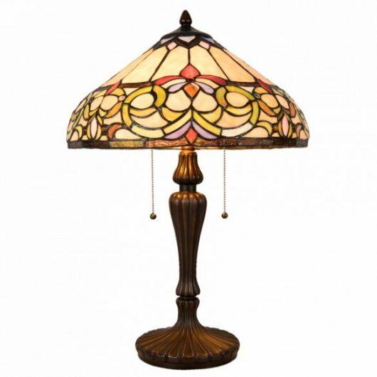 Filamentled Corwen Tiffany asztali lámpa