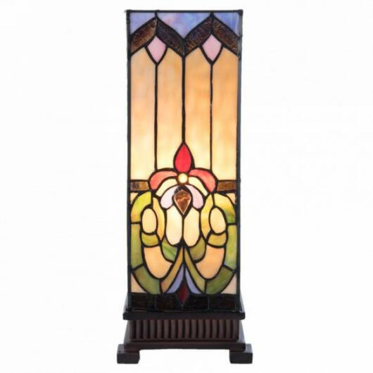 Filamentled Corwen L S Tiffany asztali lámpa