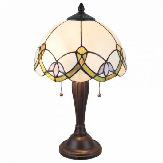 Filamentled Selsey Tiffany asztali lámpa