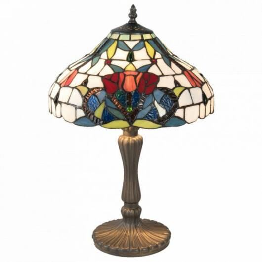 Filamentled Lynton Tiffany asztali lámpa