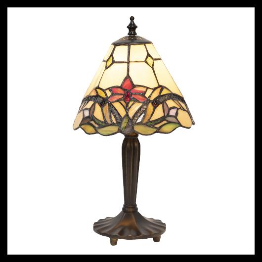 Filamentled Adber Tiffany asztali lámpa