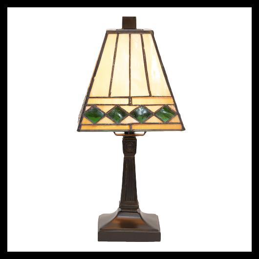 Filamentled Leigh Tiffany asztali lámpa 1x40W