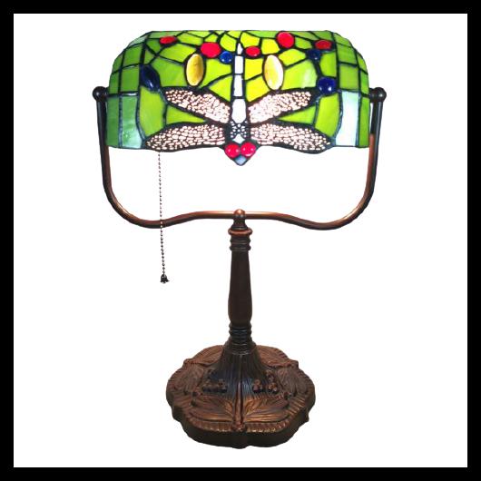 Filamentled Dragonfly Tiffany asztali lámpa