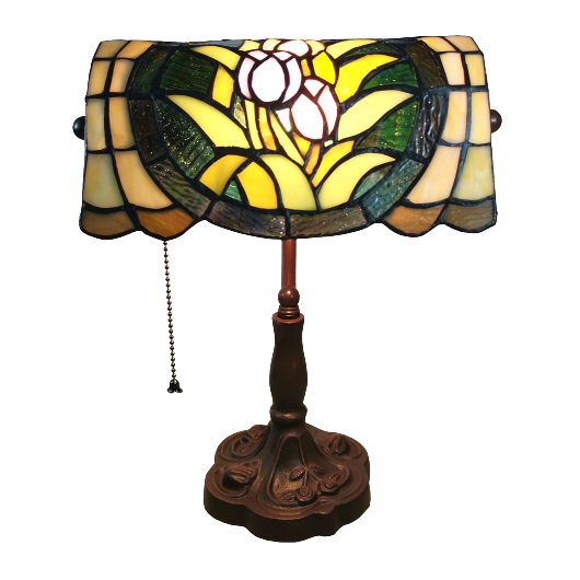 Filamentled Tulip Tiffany asztali lámpa