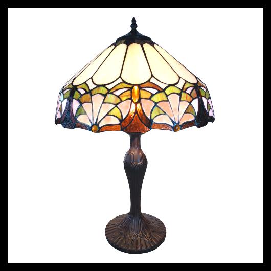 Filamentled Grasby tiffany asztali lámpa