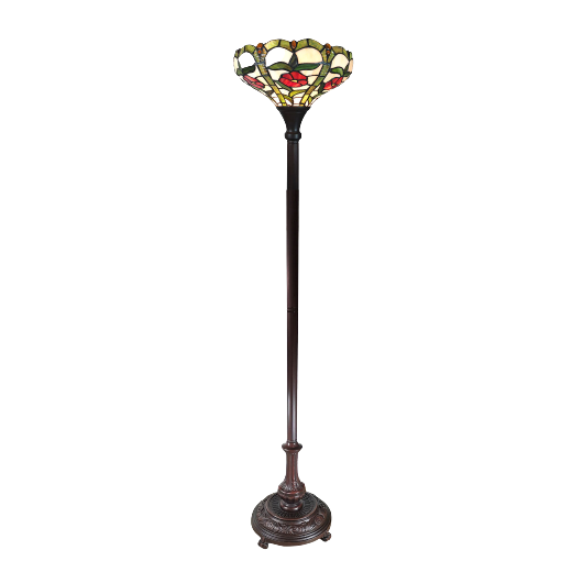 Filamentled Rose Tiffany álló lámpa
