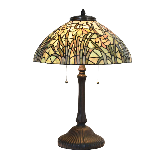 Filamentled Narcissus, Tiffany asztali lámpa - 62 cm