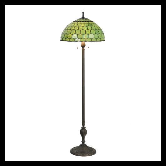 Filamentled Cilmery Tiffany álló lámpa