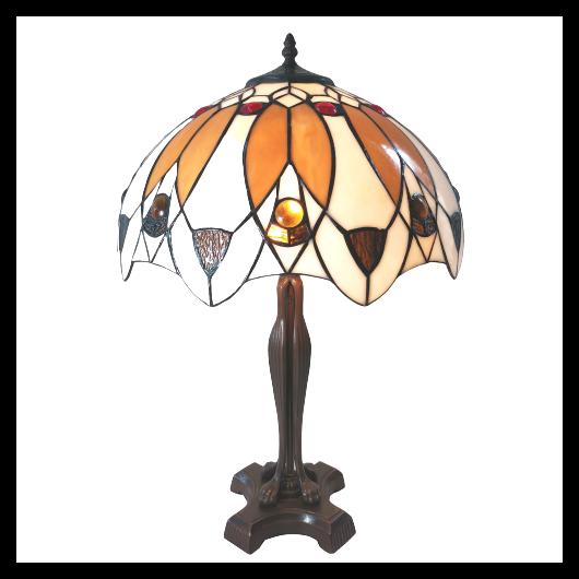 Filamentled Stapleton Tiffany asztali lámpa