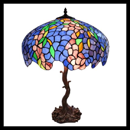 Filamentled Catlowdy Tiffany asztali lámpa