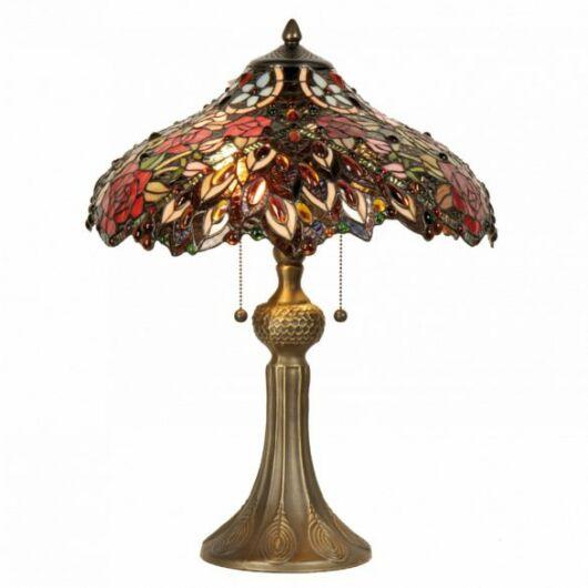 Filamentled Dalserf Tiffany asztali lámpa