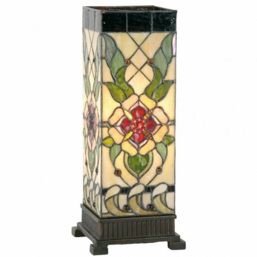 Filamentled Wellington L S Tiffany asztali lámpa