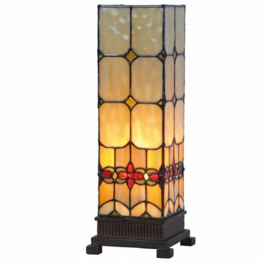 Filamentled Sunderland M S Tiffany asztali lámpa