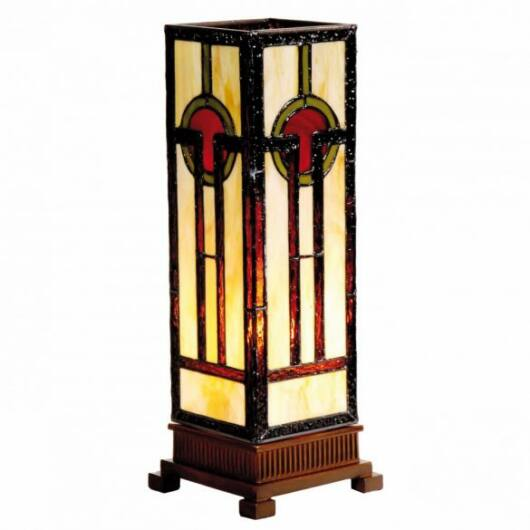 Filamentled Ossett M S Tiffany asztali lámpa