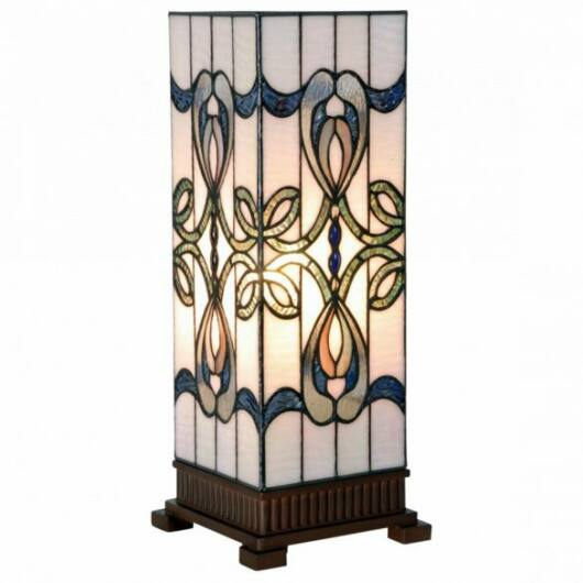 Filamentled Darvel L S Tiffany asztali lámpa