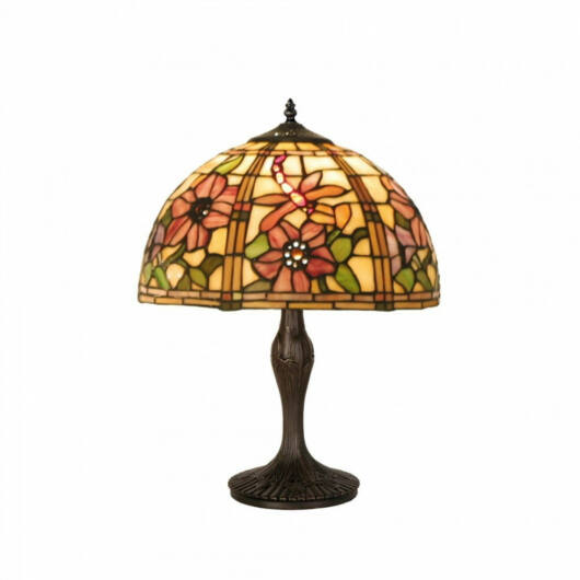 Filamentled Honley M Tiffany asztali lámpa