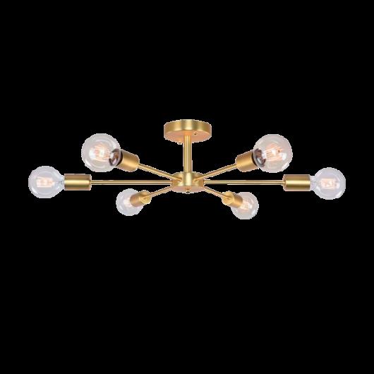 ROXI mennyezeti lámpa arany  6xE27