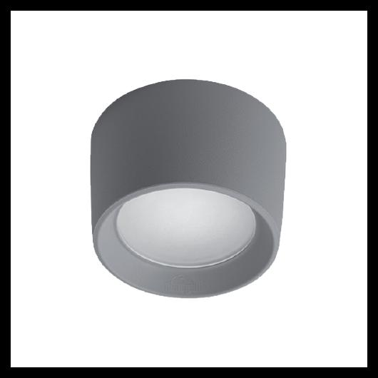 LIVIA 160 LED kültéri mennyezeti lámpa 10W szürke