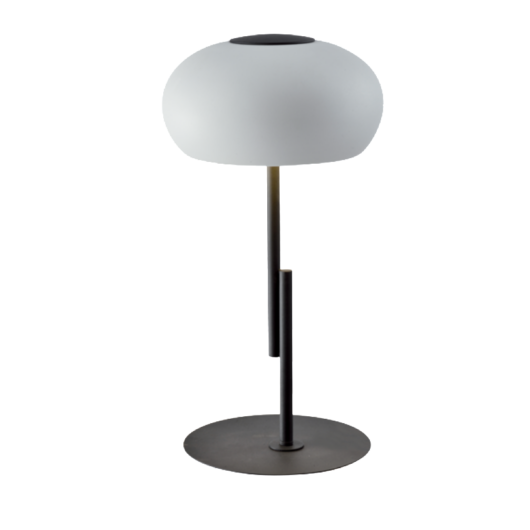 HENDRIX LED asztali lámpa, fekete, fehér