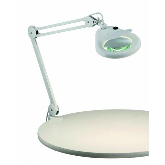 MARKSLÖJD HALLTORP Asztali lámpa 1L fehér  üveg nagyítós