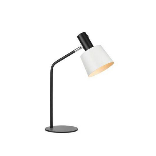 MARKSLÖJD BODEGA asztali lámpa fekete/fehér E27 1x60W