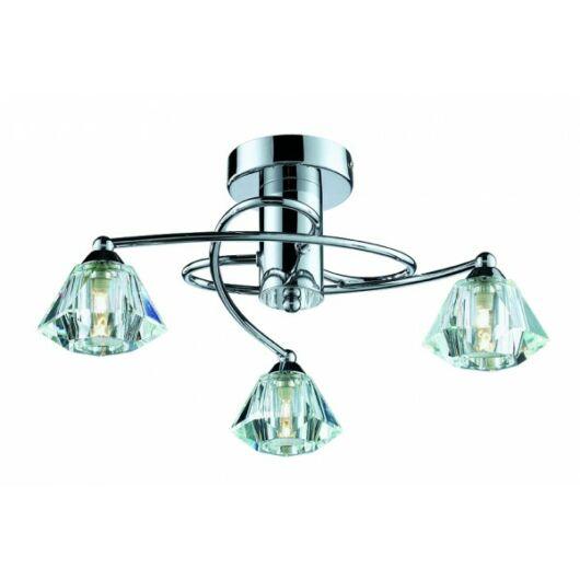 Viokef 3L mennyezeti lámpa Diamond