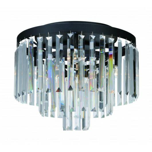 MARKSLÖJD Ventimiglia mennyezeti lámpa 42cm Fekete/MC