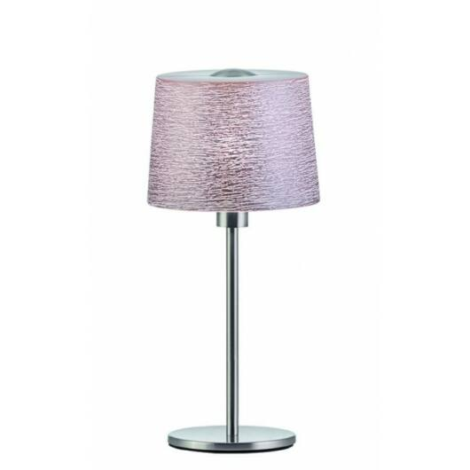 Viokef asztali lámpa D:300 dasky rózsaszín CALLAS