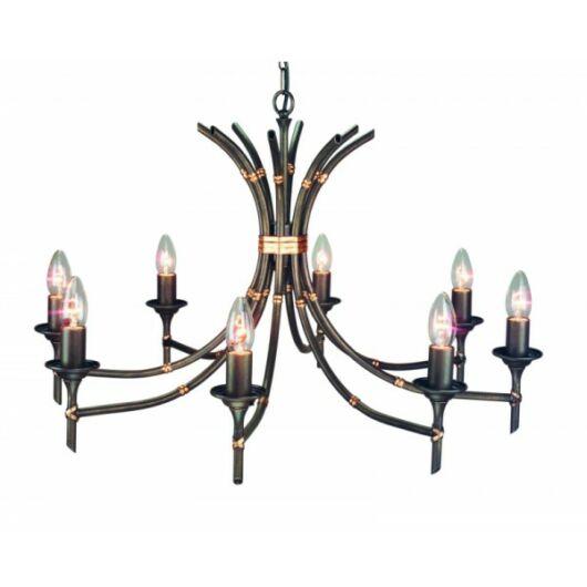 ELSTEAD Bamboo 8Lt csillár bronz (sötét árnyalat)